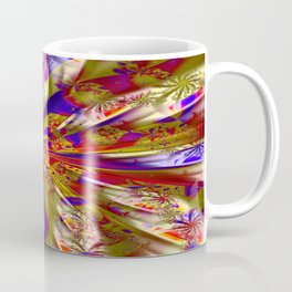 Fabric Floral Coffee Mug