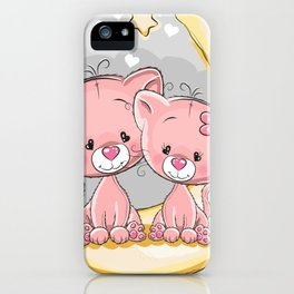 Love Moon iPhone Case