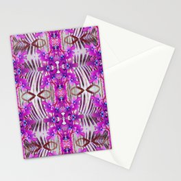Tropical floral and plants No1 Tropical Life Collection by Dawid Roc Stationery Cards