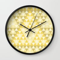 triforce Wall Clocks featuring Triforce by Gavin Guidry