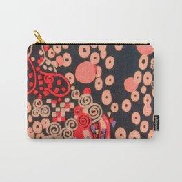 "Gustav Klimt ""Textile design - Model 5"" Carry-All Pouch"
