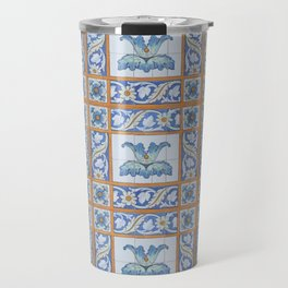 Vintage Art Nouveau Tiles Travel Mug
