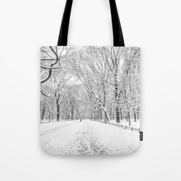 New York City Snow Tote Bag