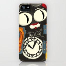 Time Cat iPhone Case