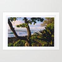 North Shore Landscape Art Print