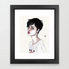 Lucas David's Fave Framed Art Print