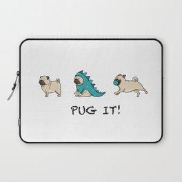 PUG, PUGS (great on teeshirts)! Laptop Sleeve