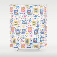 cupcakes Shower Curtains featuring Cupcakes by Hui_Yuan-Chang