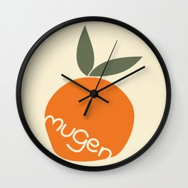 Mangoes, not oranges! Wall Clock