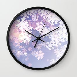 I am waiting for winter Wall Clock