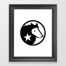 Unaffiliated Party Star Framed Art Print
