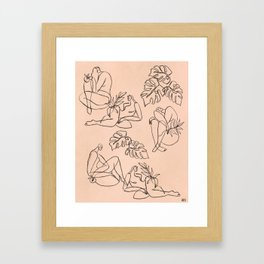 Summer Lines || Framed Art Print