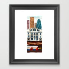 London Layers Framed Art Print
