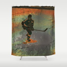 The Game Changer - Ice Hockey Tournament Shower Curtain