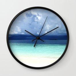 Maldives colors Wall Clock