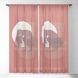 Hatha Sheer Curtain