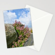 Rocks and heather Stationery Cards