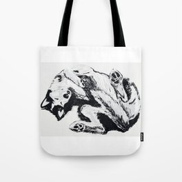 Husky Side UP Tote Bag