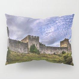 Chepstow Castle Walls Pillow Sham