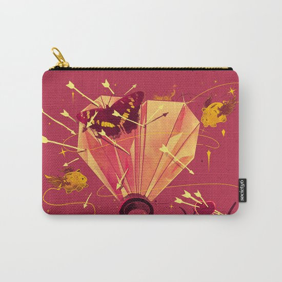 2 Hearts 2 Love Carry-All Pouch
