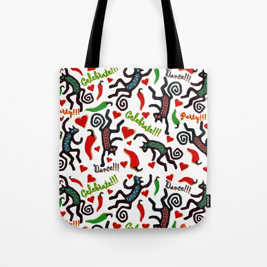 Celebration Cats Tote Bag