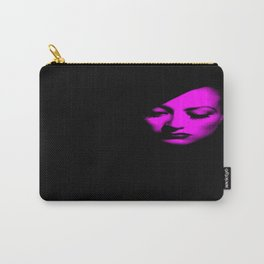 Joan Crawford Fuchsia Carry-All Pouch