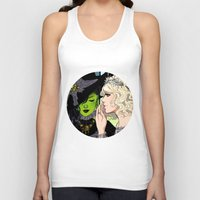 wicked Tank Tops featuring Wicked by Natalie Nardozza