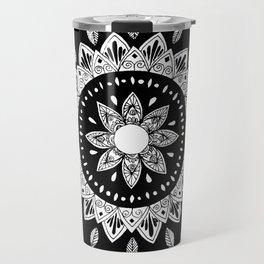 Elilia Silver Fern Mandala Travel Mug