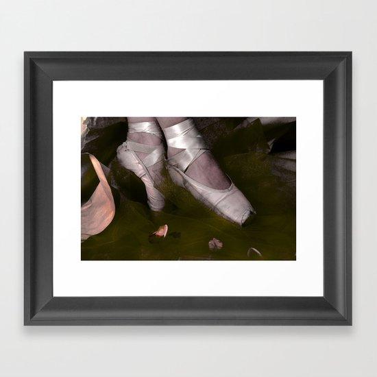 Muddy Ballet Framed Art Print