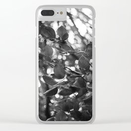 Mishimi/Closing Clear iPhone Case