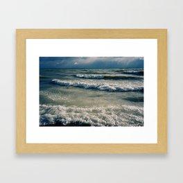 Port Hope Waves Framed Art Print
