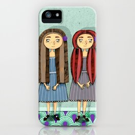 Twins iPhone Case