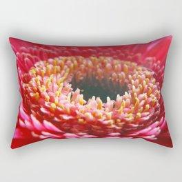 Red Germini Close up Rectangular Pillow