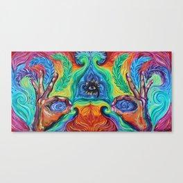 Elemental Feather Canvas Print