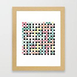Network Analysis Framed Art Print