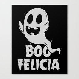 Ironic Rap Music HipHop Ghost Gift For Musicians Canvas Print