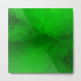 Fresh Banana Green Metal Print