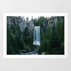 tumalo falls Art Print