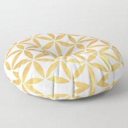 FLOWER OF LIFE sacred geometry Floor Pillow