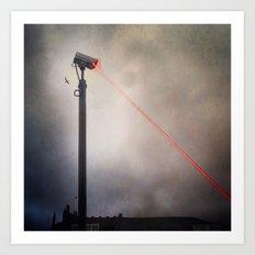 CCTV LASER BLASTER 2 Art Print