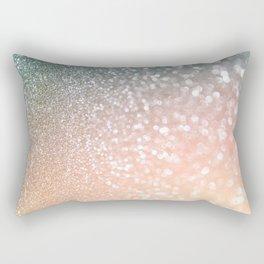 Rosequartz Rose Gold glitter - Pink Luxury glitter sparkling design Rectangular Pillow