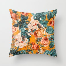 SUMMER GARDEN III Throw Pillow
