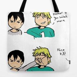 Nice Kill Tote Bag