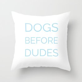 boys stink Throw Pillow