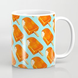 Popsicle Pattern - Creamsicle Coffee Mug