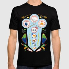 Pinball Wizard Black SMALL Mens Fitted Tee