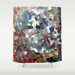 Happy New Year Moon Love Shower Curtain