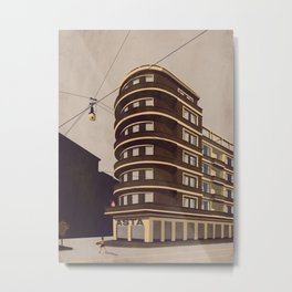Via Cuneo - Milan Metal Print