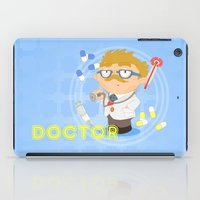 doctor iPad Cases featuring Doctor by Alapapaju