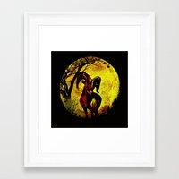 ram Framed Art Prints featuring Ram by Saundra Myles